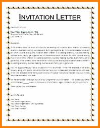 sample invitation letter for visitor visa for graduation ceremony 6 invitation letter format biology resume