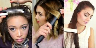 best tool for curling mid length hfine hair 8 ways to use your flat iron flat iron hacks
