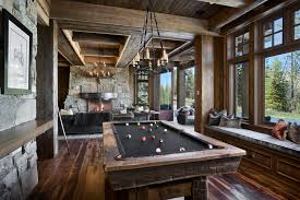 Rustic Pool Table Lights by Cool Pool Tables Family Room Contemporary With Aquarium Black Pool