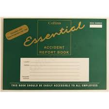 accident reporting book accident report book archives curran office supplies