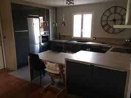 hauteur ilot central cuisine ilot central table hauteur plan de travail ou table 74cm 15