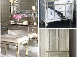 nightstand beautiful awesome images about home decor on mirrored