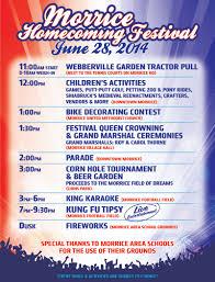 2014 morrice homecoming festival u2013 village of morrice michigan