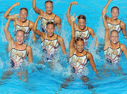 Synchronized Swimming Meme - the freakish faces of synchronized swimming smosh