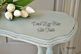 Shabby Chic Side Table Homeroad Duck Egg Blue Shabby Chic Side Table
