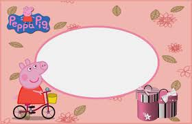 peppa pig free printable invitations labels or cards is it