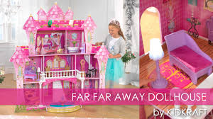 u0027s pink far far away dollhouse toy review youtube