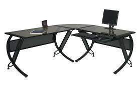Black L Shaped Computer Desk Black L Desk Sgmun Club