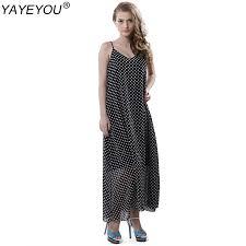 online get cheap cotton maxi dress long black aliexpress com