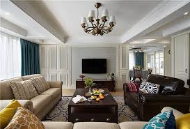 American Classic Living Room Design Interior Design - American living room design