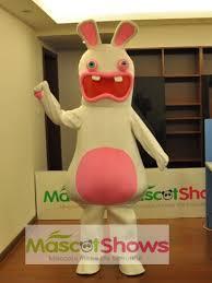 Mascot Costumes Halloween Raving Rabbit Mascot Costumes Halloween
