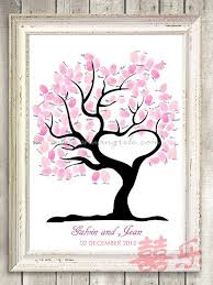 wedding tree my heart wedding tree thumbprint guestbook wedding guest books