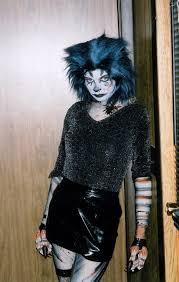 Girls Gothic Halloween Costumes Slouching Werecat Gun Cougar Deviantart Deviantart