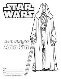 download star wars coloring pages anakin skywalker ziho coloring