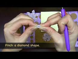 learn to make a quilled snowflake ornament quilled creations
