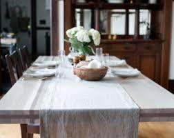Dining Room Table Runners Linen Table Runner Etsy