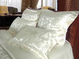 cream silk jacquard duvet cover silk duvet covers