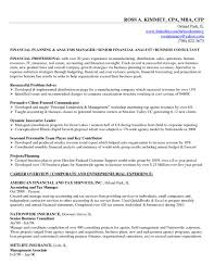 Academic Advisor Resume Examples by Financial Planning And Analysis Resume Examples Resume For Your