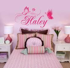 customize your name wall decals in decors
