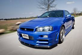nissan r34 fast and furious incredible car from fast and furious film driven by late paul