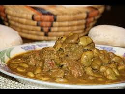 comment cuisiner les feves seches tajine de veau fèves beef tagine with beans طاجين اللحم و فول