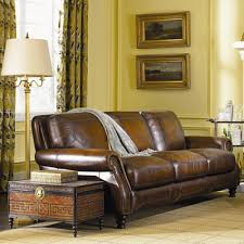 darby home co goldhorn leather sofa u0026 reviews wayfair
