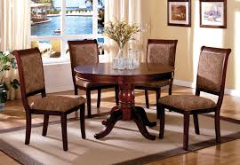 4 Seater Round Glass Dining Table Chair Dining Table With Chairs For Sale New El Home 4 Chair Set