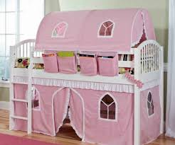 girls beds ikea comfy design ideas together with pink tent floral pattern covered