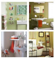 custom made diy bathroom storage idea in small space room using
