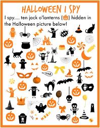 i spy u2026 halloween bear week pinterest halloween printable