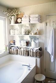 Best  Farmhouse Shelving Ideas On Pinterest Half Bathroom - Bathroom shelf designs