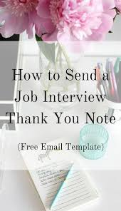 best 25 interview thank you email ideas on pinterest thank you