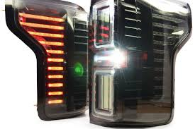 2016 f150 led tail lights 15 17 ford f150 xb led tail lights raxiom complete housings from