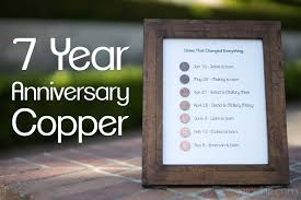 25 year anniversary gift ideas 7 year wedding anniversary gift wedding gifts wedding ideas and