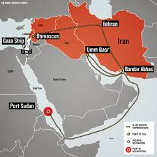 Map Of Syria And Israel by Israel Navy Special Ops Seize Iran Hamas Rocket Shipment Off The