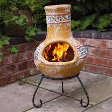 Mexican Patio Furniture by Owning A Clay Chiminea Arizona Patio Info Pinterest Clay