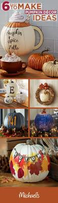 home spice decor use a half pumpkin to easy create this diy pumpkin spice latte