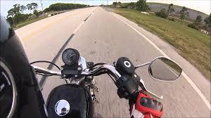 Harley Davidson Sportster 883 Top Speed Youtube