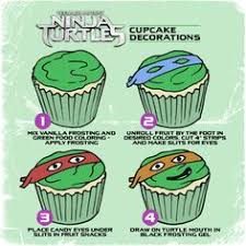 ninja turtle fruit tray nephews bday