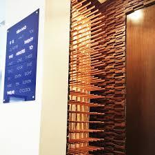 the conversation piece workshop natural slab copper rack