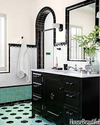 Award Winning Bathroom Design Fyfe Blog by Two Bathrooms With Bold Tile Wall Colors 1930s Bathroom And