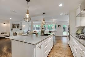 Kichler Kitchen Lighting Kitchen With Slate Counters U0026 Kitchen Island In Dallas Tx