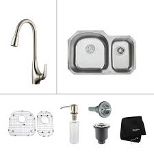 double bowl kitchen sinks in canada canadadiscounthardware com