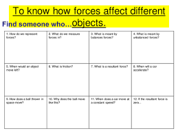 resultant forces by lrcathcart teaching resources tes