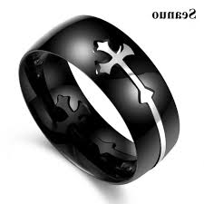 mens black wedding rings mens black onyx celtic rings ecuatwitt
