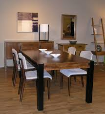 Modern Dining Room by Rectangular Pedestal Dining Table Dining Room Modern With Artwork