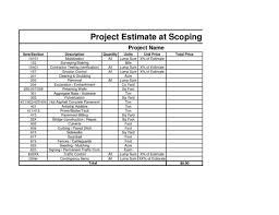 construction bid template excel estimate spreadsheet template spreadsheet templates for business