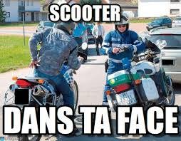 Biker Meme - scooter the cop and the biker meme on memegen