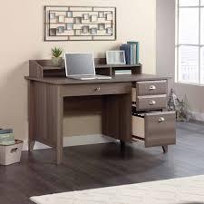 Desk Top Organizer Hutch by Sauder Shoal Creek Desk Multiple Finishes Walmart Com