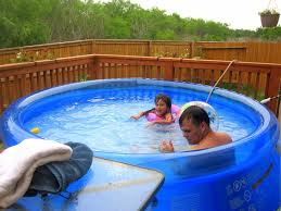 Backyard Pool With Slide - outdoor nice kiddie pool walmart to let your child join the fun